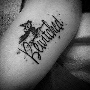 Фото рисунка тату НА ТЕМУ ВЕДЬМ 28.01.2021 №0161 - witch tattoo - tattoo-photo.ru