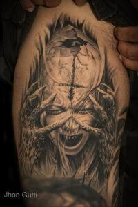 Фото рисунка тату НА ТЕМУ ВЕДЬМ 28.01.2021 №0168 - witch tattoo - tattoo-photo.ru