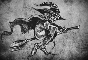 Фото рисунка тату НА ТЕМУ ВЕДЬМ 28.01.2021 №0172 - witch tattoo - tattoo-photo.ru