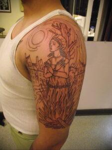 Фото рисунка тату НА ТЕМУ ВЕДЬМ 28.01.2021 №0176 - witch tattoo - tattoo-photo.ru