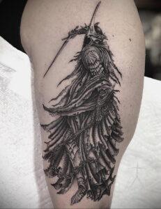 Фото рисунка тату НА ТЕМУ ВЕДЬМ 28.01.2021 №0178 - witch tattoo - tattoo-photo.ru