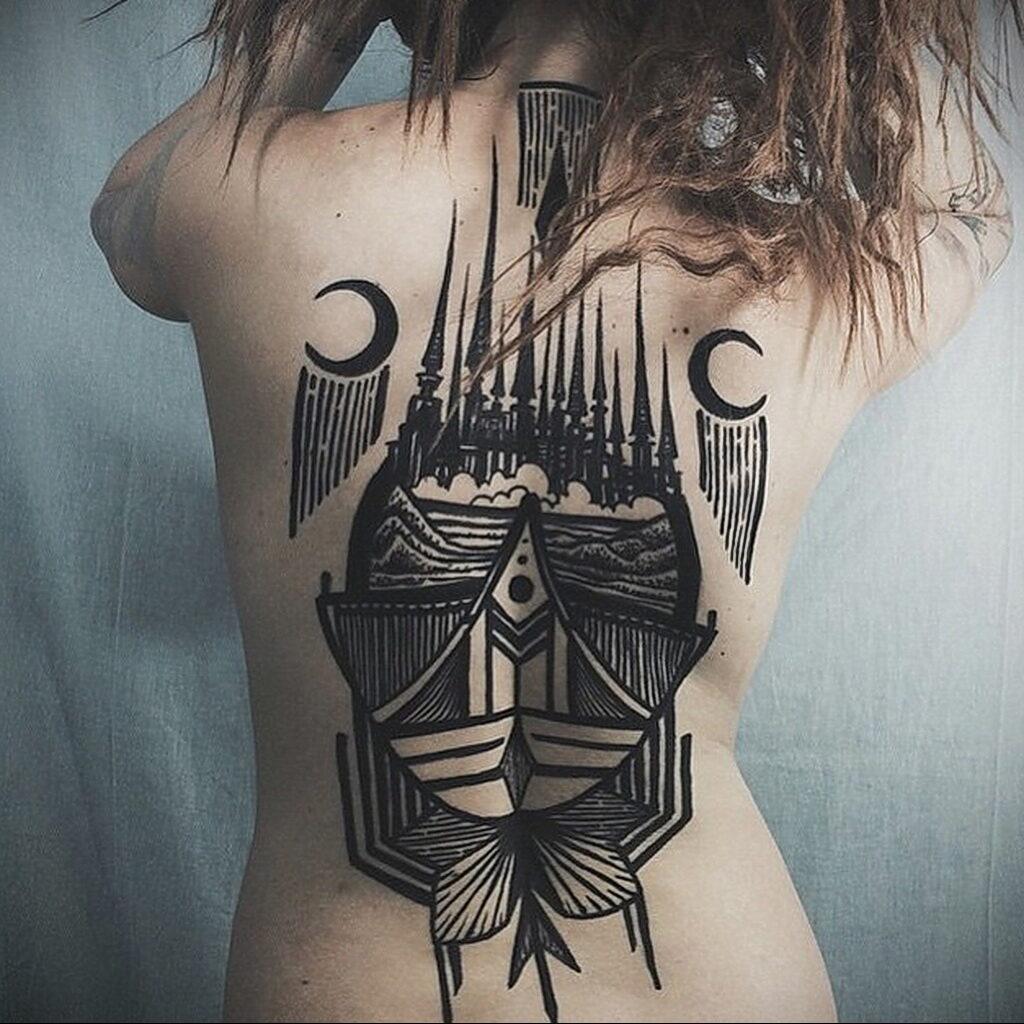 Фото рисунка тату НА ТЕМУ ВЕДЬМ 28.01.2021 №0216 - witch tattoo - tattoo-photo.ru