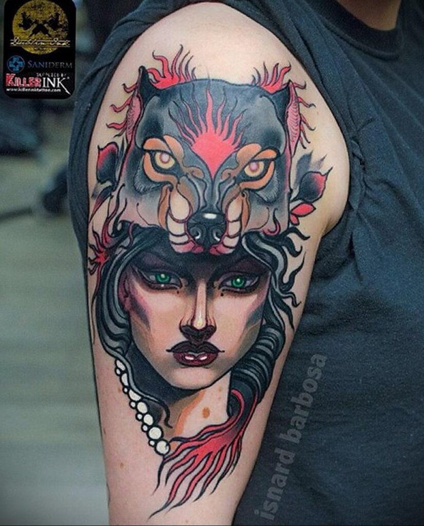 Фото рисунка тату НА ТЕМУ ВЕДЬМ 28.01.2021 №0220 - witch tattoo - tattoo-photo.ru