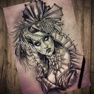 Фото рисунка тату НА ТЕМУ ВЕДЬМ 28.01.2021 №0221 - witch tattoo - tattoo-photo.ru