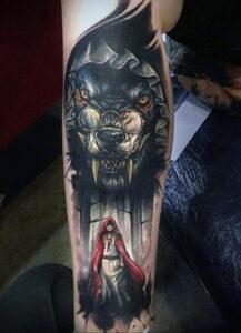 Фото рисунка тату НА ТЕМУ ВЕДЬМ 28.01.2021 №0236 - witch tattoo - tattoo-photo.ru