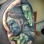 Фото рисунка тату НА ТЕМУ ВЕДЬМ 28.01.2021 №0265 - witch tattoo - tattoo-photo.ru