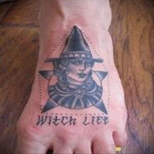 Фото рисунка тату НА ТЕМУ ВЕДЬМ 28.01.2021 №0294 - witch tattoo - tattoo-photo.ru